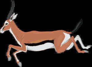 Antelope clipart Antelope Art art Clker