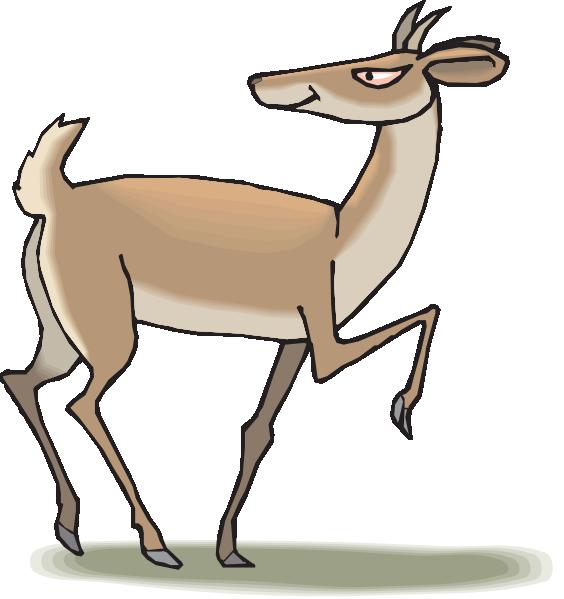 Antelope clipart cartoon Free Antelope%20Clipart Pivot clipart antelope