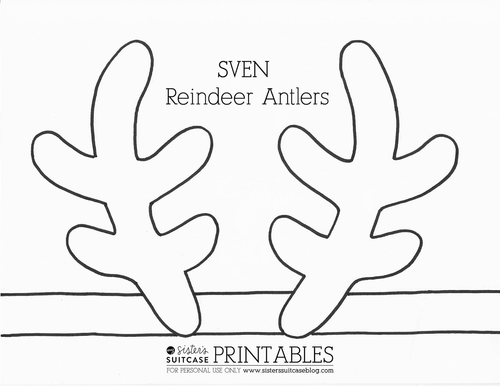Antler clipart printable Free Clipart Antlers  Clip