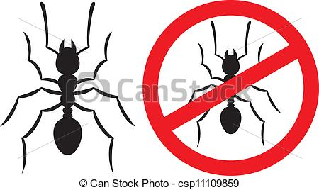Ants clipart icon Ants Clipart symbol) no Vector