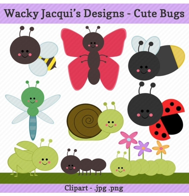 Ants clipart snail New Ant Caterpillar Bee Clipart