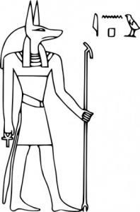 Anubis clipart Pharoa Anubis Art God Clip