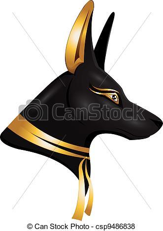 Anubis clipart Csp9486838 Anubis of the Anubis