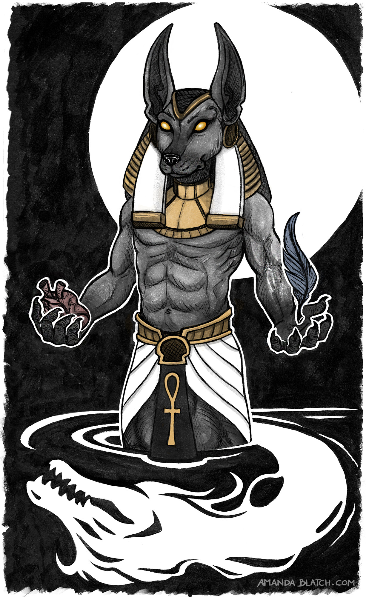 Anubis clipart afterlife #8