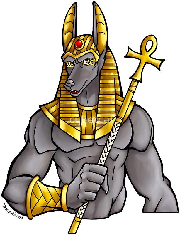 Anubis clipart animal god #3