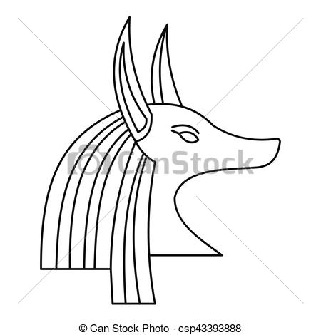 Anubis clipart animal god #2