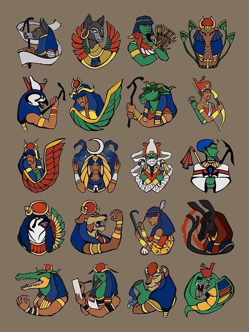 Anubis clipart horus #5