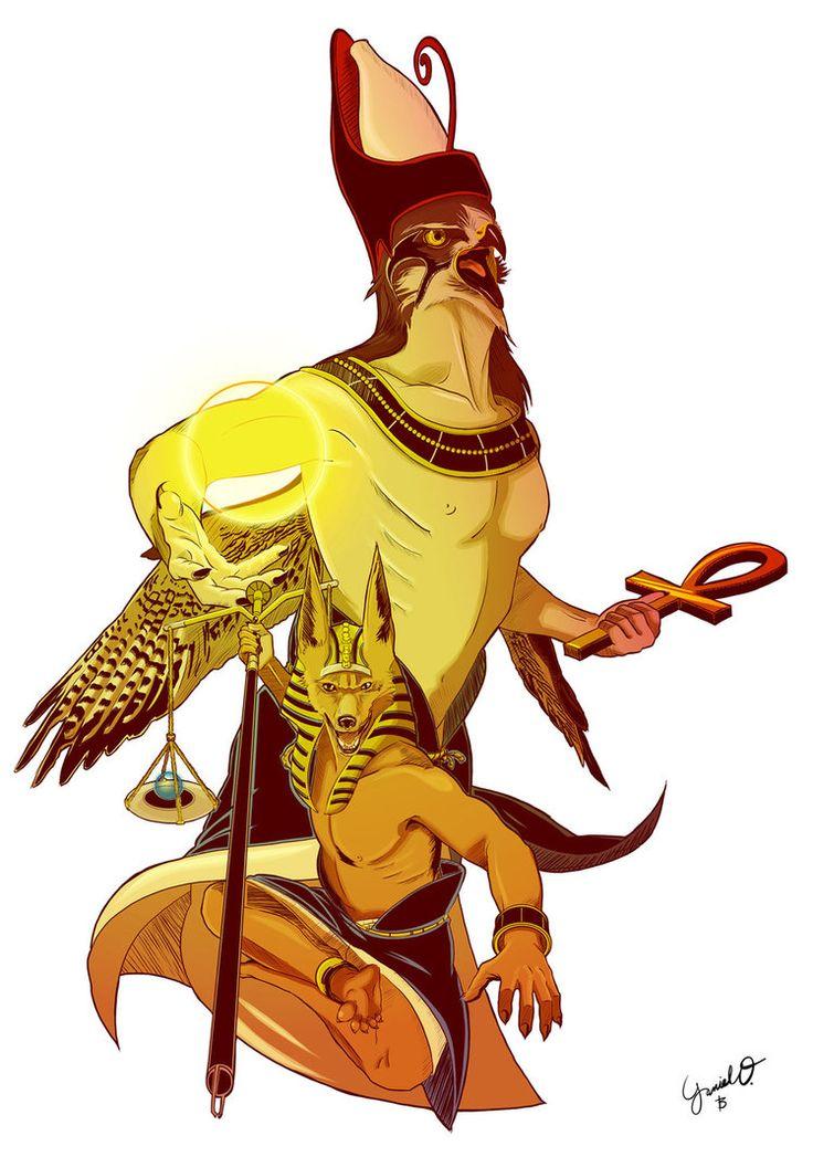 Anubis clipart horus #1