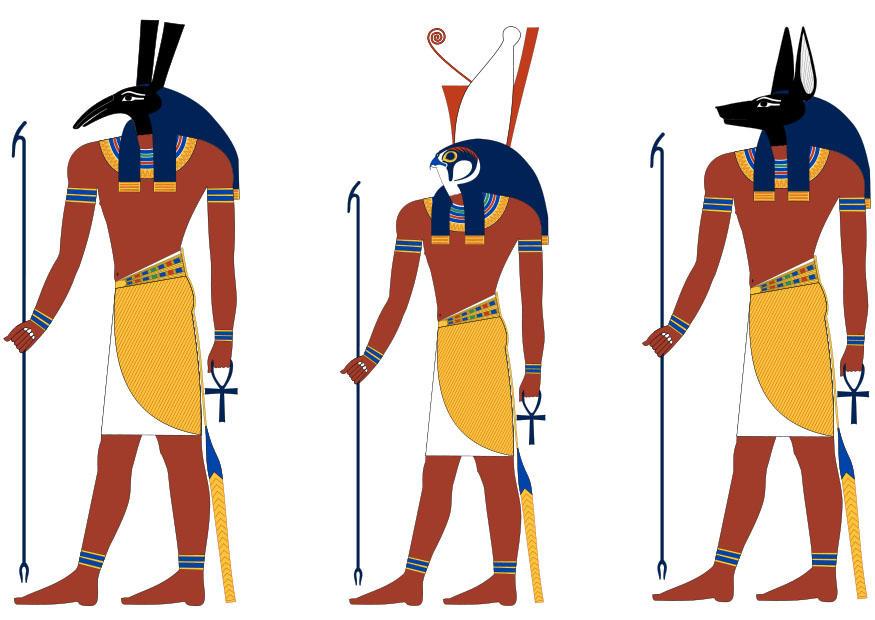 Anubis clipart horus #3