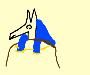Anubis clipart egipt Mummification (drawing Egyptian by of
