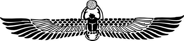 Anubis clipart scarab #4