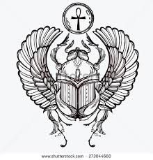 Anubis clipart scarab #3