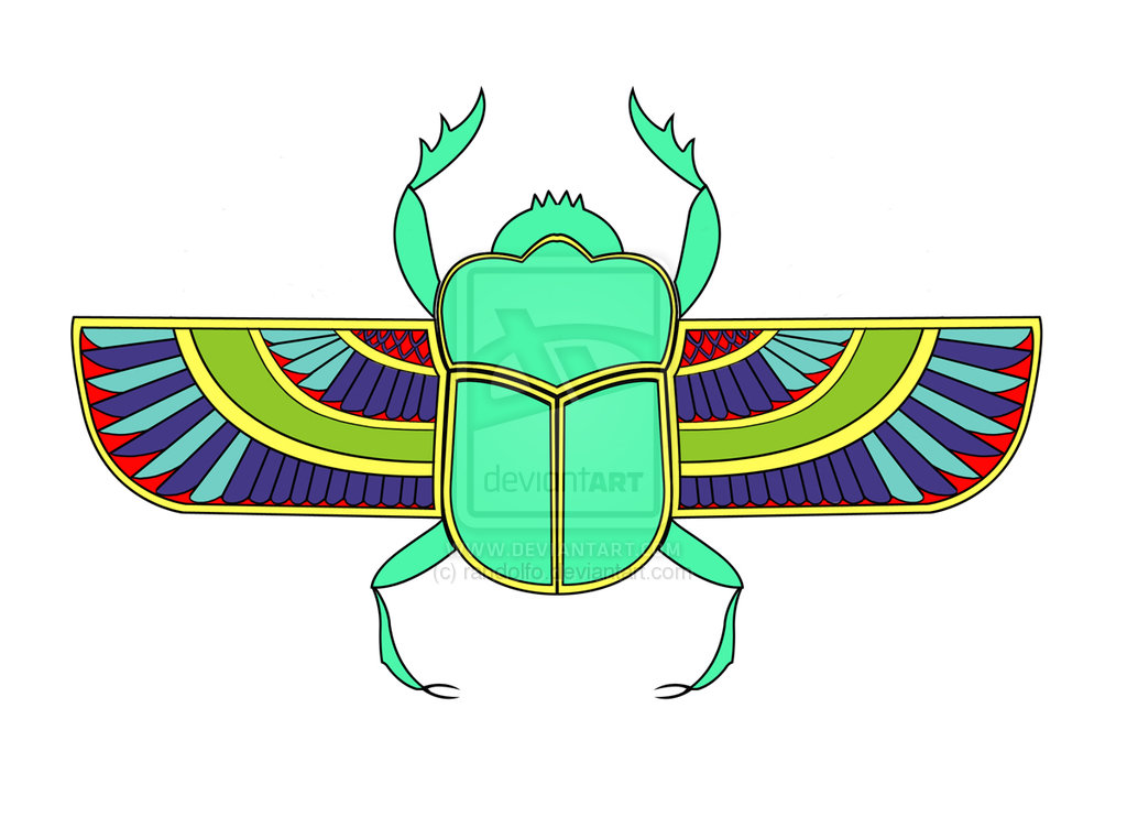 Beelte clipart scarab beetle Ancient Beetle by  scarab