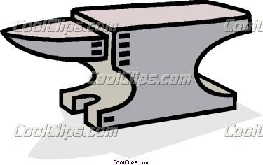 Anvil clipart #12