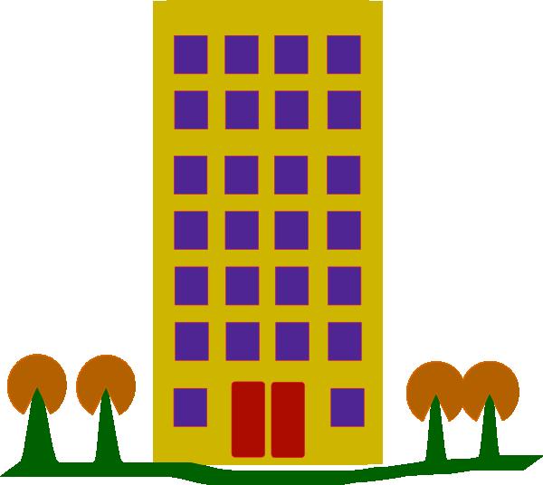 Apartment Complex clipart #1