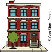 Bulding  clipart apartment complex Building Apartment Apartment Clipart