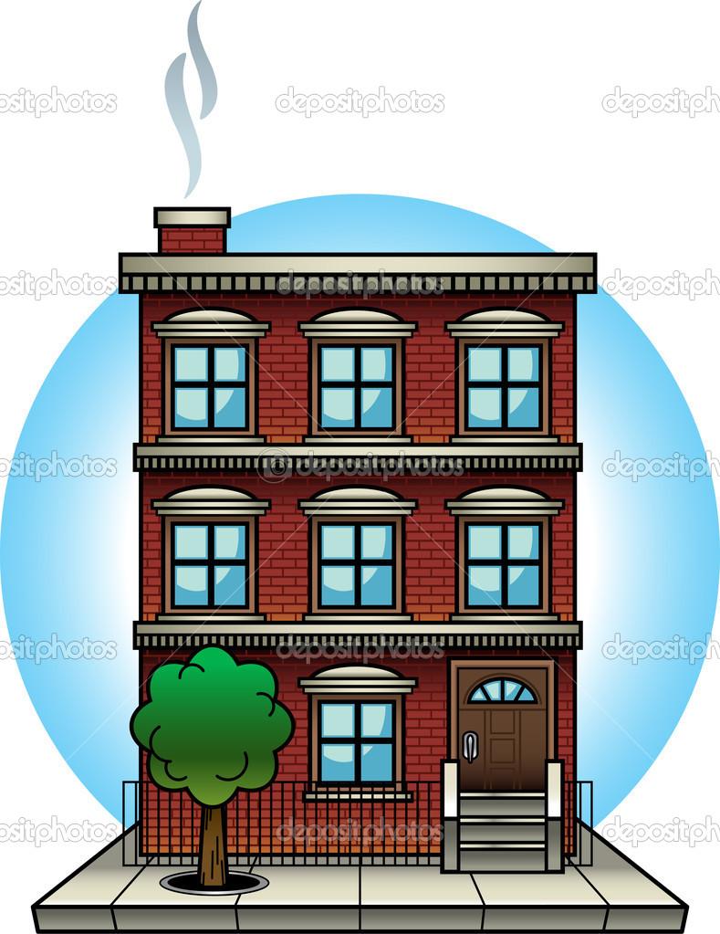 Apartment Complex clipart #2