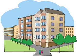 Apartment Complex clipart #8