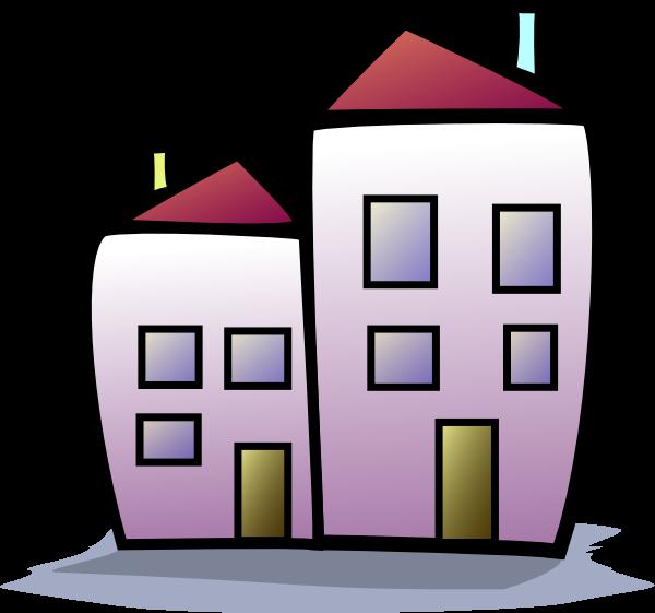 Apartment Complex clipart #5