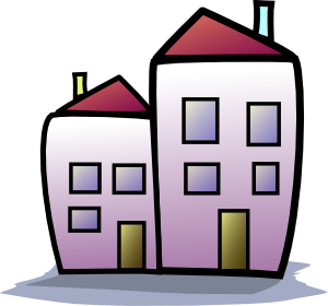 Apartment Complex clipart townhouse #8