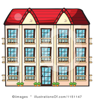 Apartment Complex clipart townhouse #6