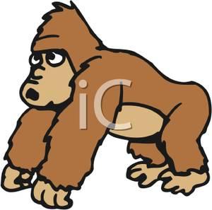 Ape clipart Ape A Image: Ape Image: