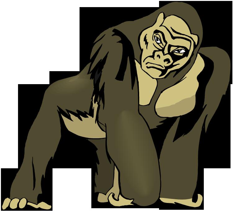 Ape clipart Clipart Best Ape Savoronmorehead Desing