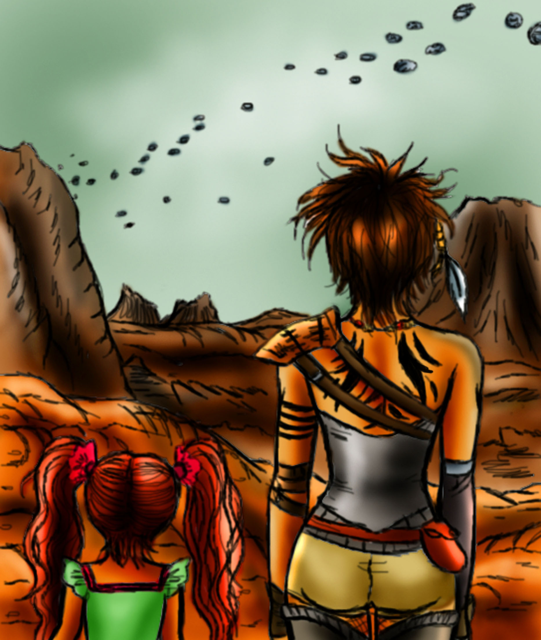 Apocalyptic clipart comic person Day post 365 Post (in