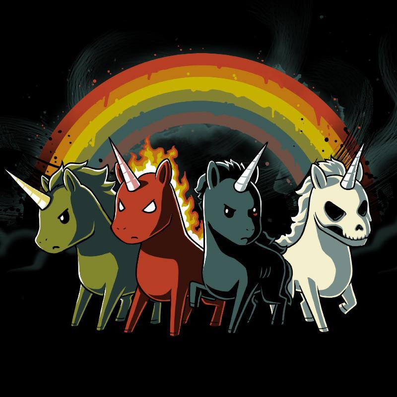 Apoclyptic clipart Of  the Four Unicorns