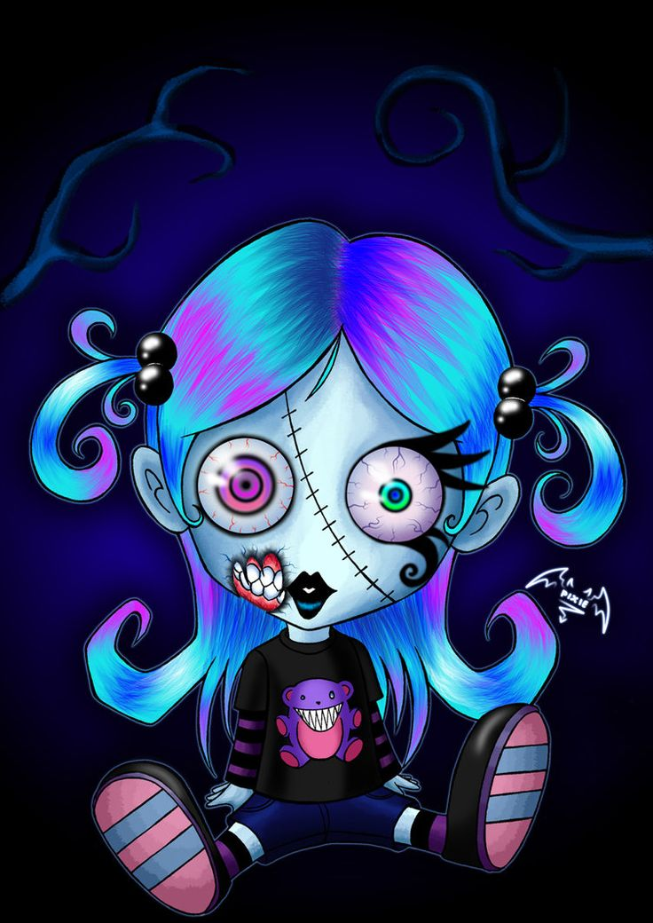 Apocalyptic clipart By deviantART: Pixie Zombies_paper about