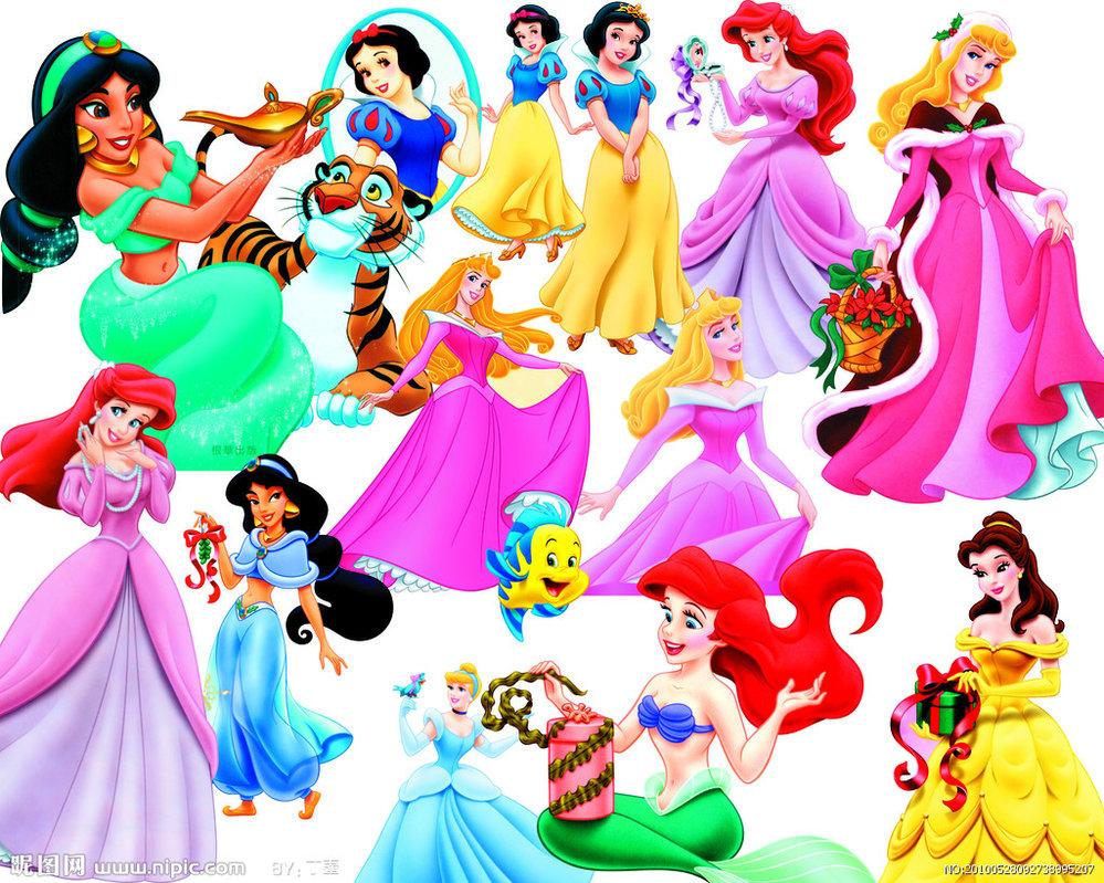 Merry Christmas clipart disney princess  Alce1977 by on Disney