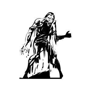 Zombie clipart public domain Polyvore Free and apocalypse Public