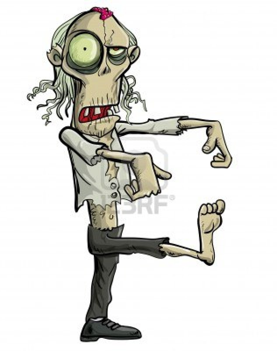 Apocalyptic clipart simple cartoon Isolated zombie Isolated Photo Photo