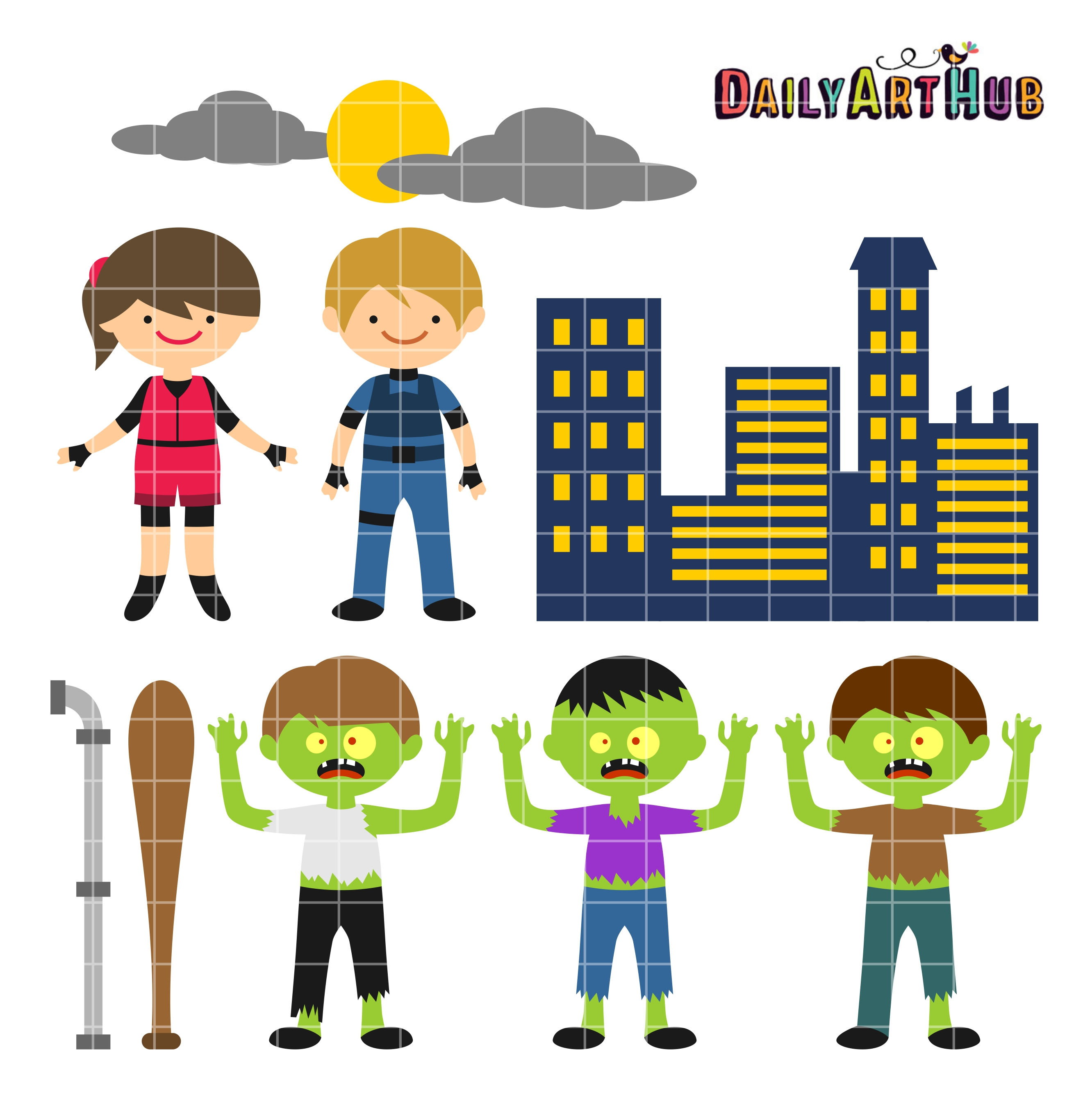 Apocalyptic clipart simple cartoon Edition Cute Daily Cute Art