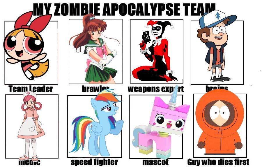 Apocalyptic clipart simple cartoon Team Apocalypse Apocalypse Amino Cartoon