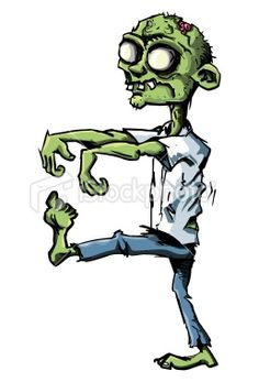 Apocalyptic clipart simple cartoon Not of Zombie zombies Inspiration