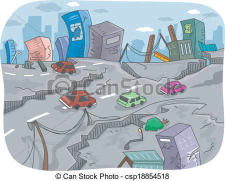 Earthquake clipart zone Art Ruined Download Clip Clip