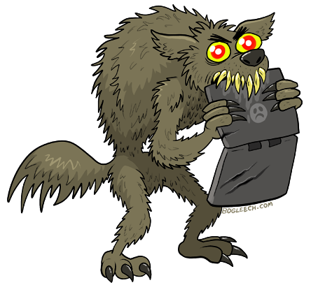 Apocalyptic clipart werewolf Some GLEECH at BOO to