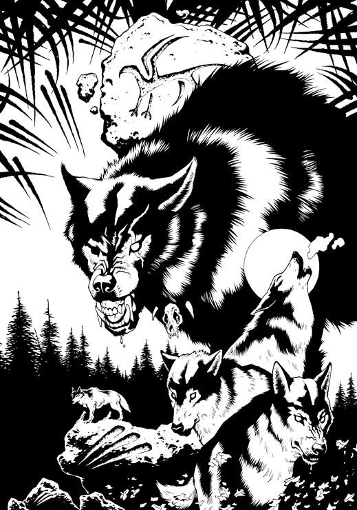 Apocalyptic clipart werewolf Werewolf Steve for for the