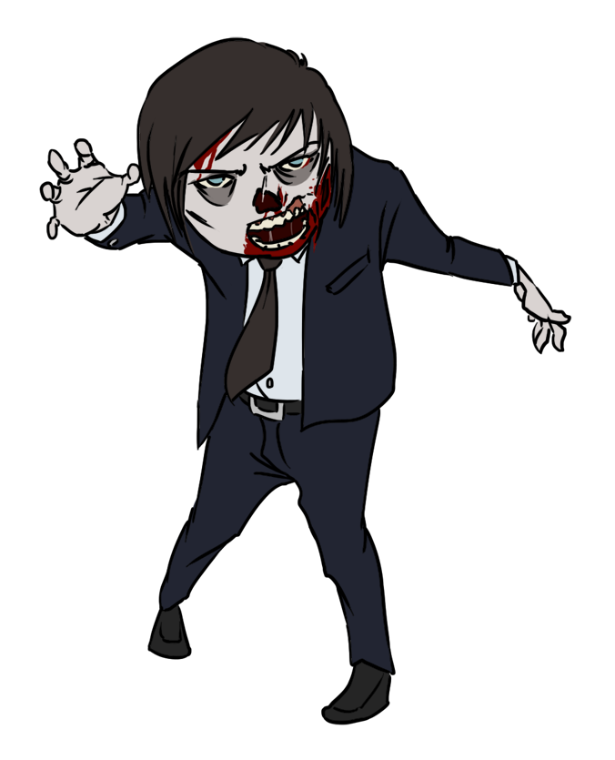 Apoclyptic clipart zombie head Zombie Clipart In Art Images