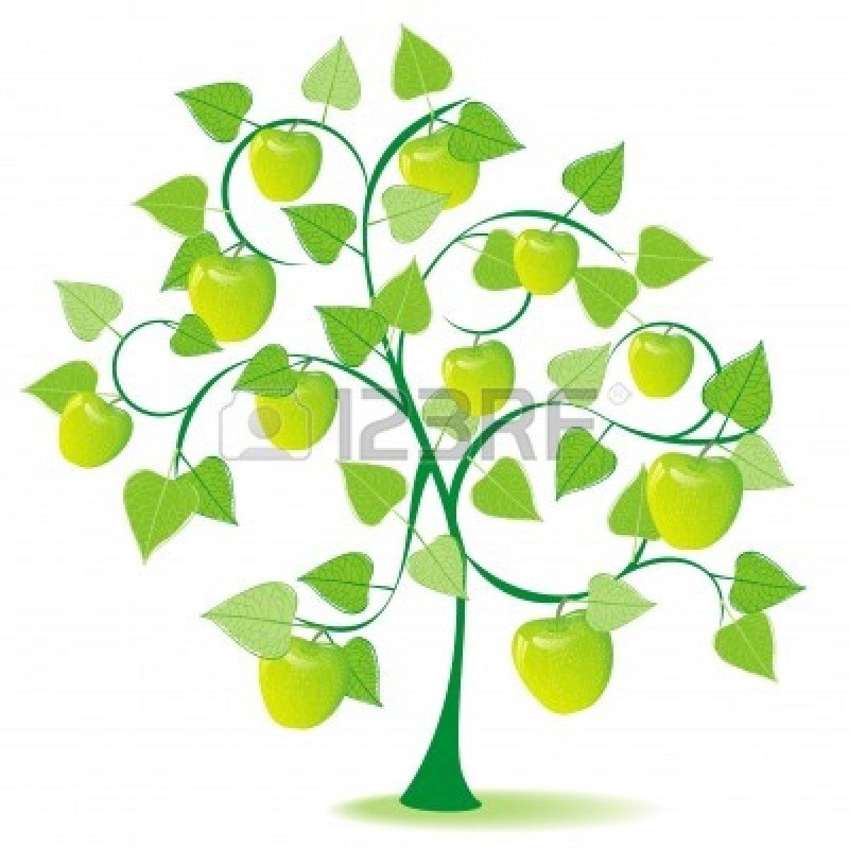 Season clipart apple tree #7