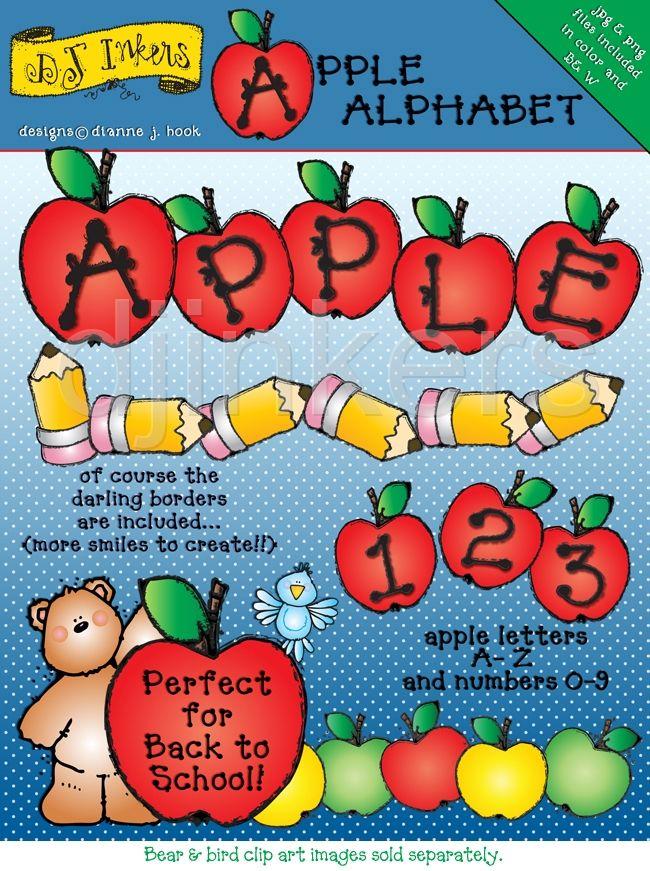 Apple clipart alphabet Alphabet letter Apple Apple A
