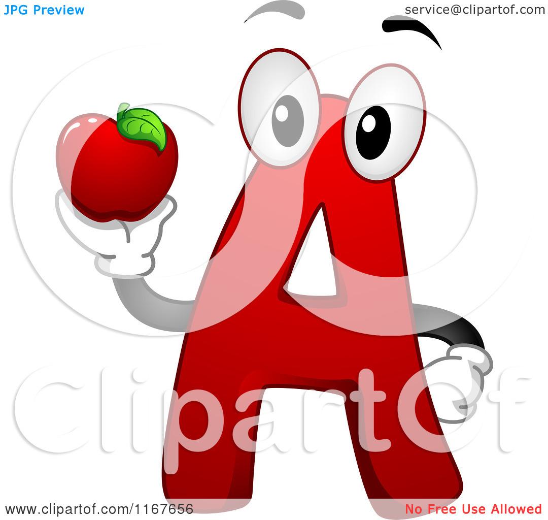 Apple clipart alphabet Apple clipart A clipart letter