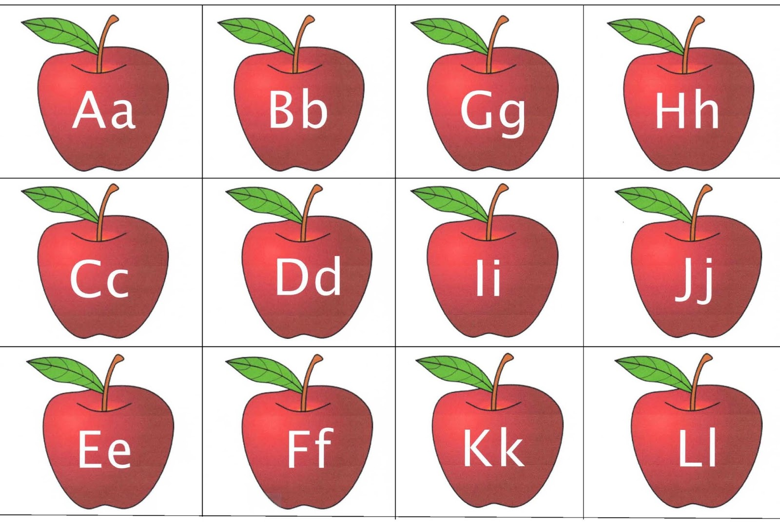 Apple clipart alphabet Ways! Classroom a apples of