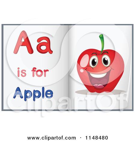 Apple clipart alphabet Letter apple ClipartFest apple alphabet