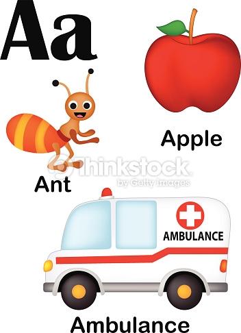 Apple clipart alphabet Alphabet letter Art Pictures A