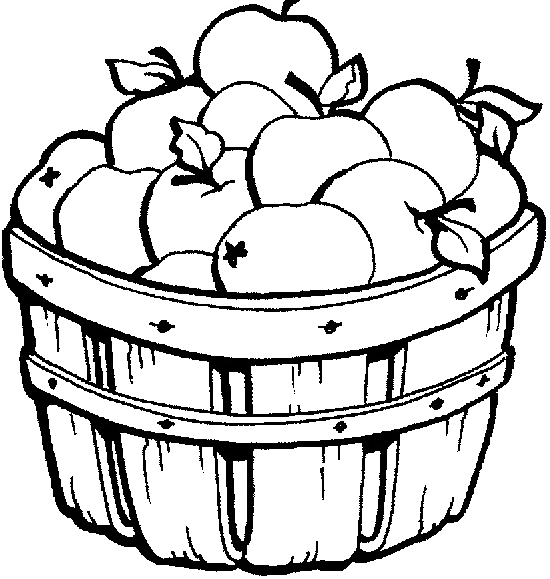 Basket clipart apple basket Clipart Apple com Basket Pages