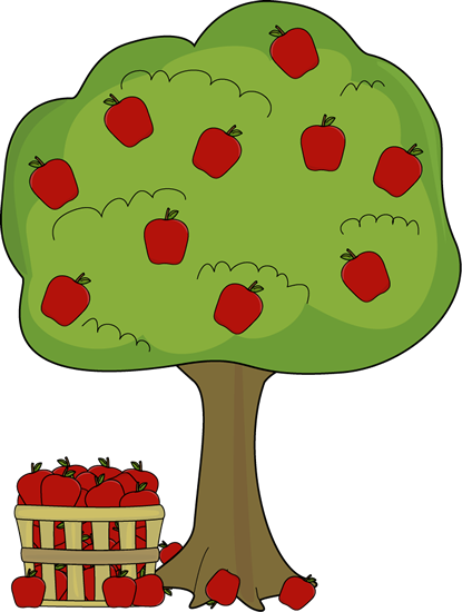 Seed clipart stage With Clip Art Apple Tree