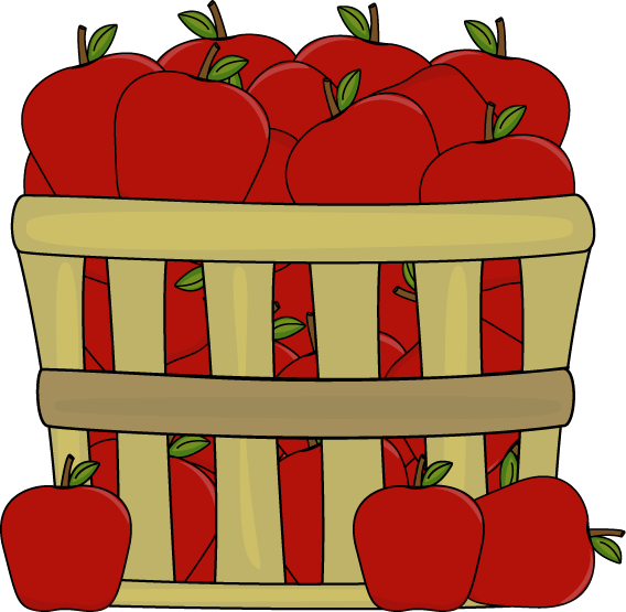 Basket clipart bushel basket Apples Art Basket Image a