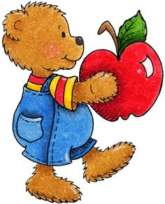 Bear clipart transparent And And Apples Clipart Bear